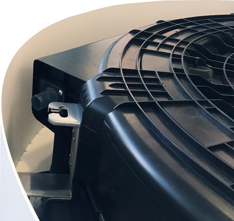 Splitsystem Wind-Free™ 360° Round Airflow AC 140   Rund   R410A