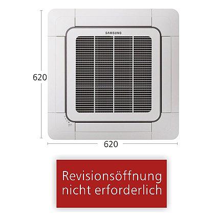 Typ Mini-Kassette 620x620 AJN 052 NDEHA/EU | R410A