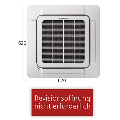 Splitsystem Mini-Kassette 620x620 AC 026 | R410A